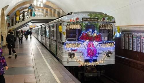 В Рождественский сочельник поезда городского метрополитена и Московского центрального кольца перевезли более 313 тысяч пассажиров