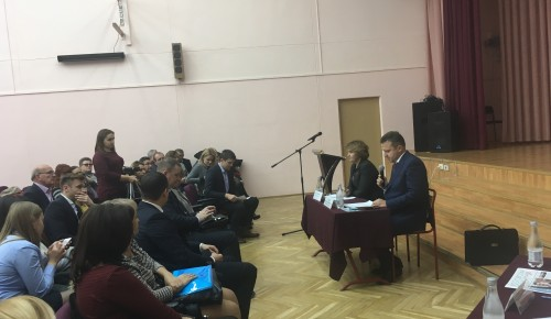 21 ноября прошла встреча жителей с главой района Южное Бутово