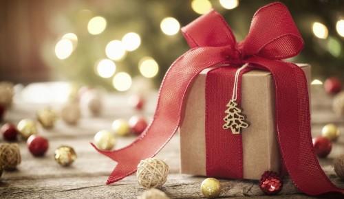 Новогодняя акция «Эстафета подарков» стартовала в павильоне МЦД
