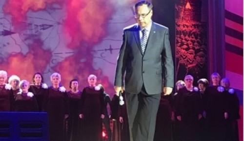 Учитель районной школы выступил на концерте в Московском Дворце пионеров