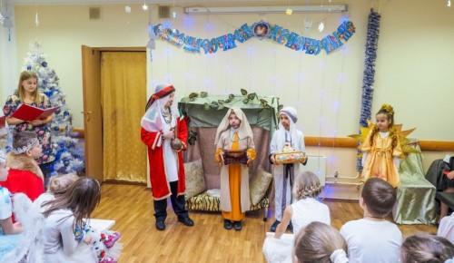 Большой рождественский концерт прошел в Храме князей Бориса и Глеба в Зюзино