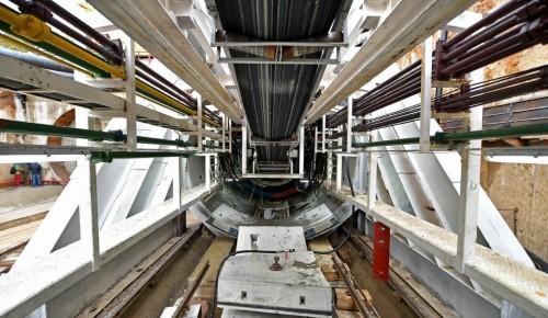 В районе Зюзино стартовало строительство последнего тоннеля южного участка БКЛ