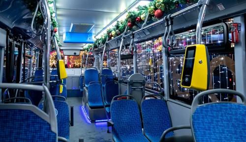 Столичный транспорт в ночь с 6 на 7 января будет работать дольше