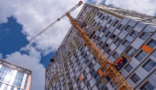 Три дома по программе реновации начали строить в районе Зюзино