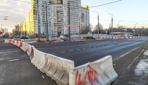 В Зюзине запустили объездную дорогу