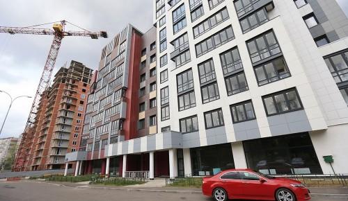 Ход строительства объектов по программе реновации в Зюзине проинспектирует Мосгосстройнадзор
