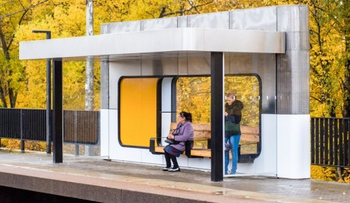 Модули для защиты пассажиров от непогоды установят на станции Щербинка