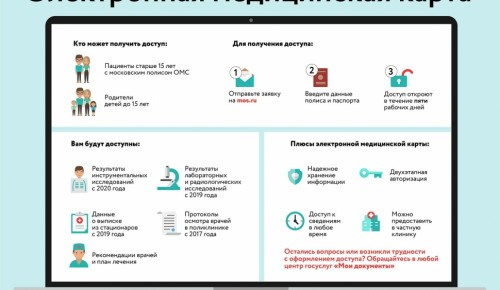 Более 260 тыс. москвичей уже получили доступ к электронной медкарте