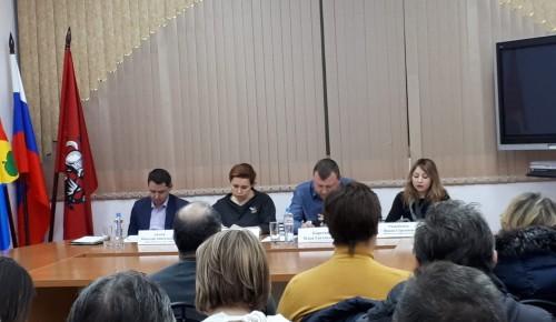 В Зюзине обсудили проблему несанкционированной торговли