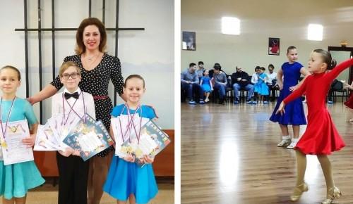Юные «Жемчужины» из Зюзина блеснули на выездном турнире «Танец мечты»