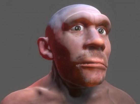 В Дарвиновском музее «поселился» интерактивный неандерталец