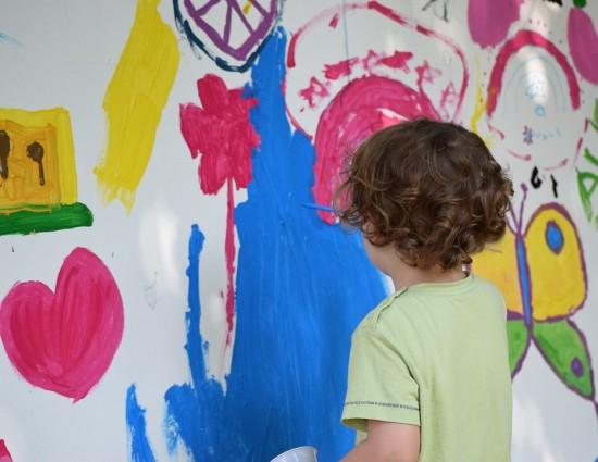 В библиотеке №168 на Херсонской открылась студия по занятию живописью для детей