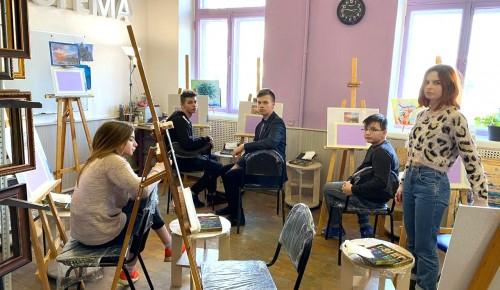 """Воспитанники """"Каховских ромашек"""" посетили художественный мастер-класс"""