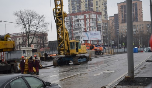 Началось строительство второго выхода станции «Севастопольская»