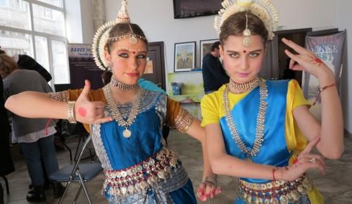 В ЮЗАО прошел фестиваль индийского танца