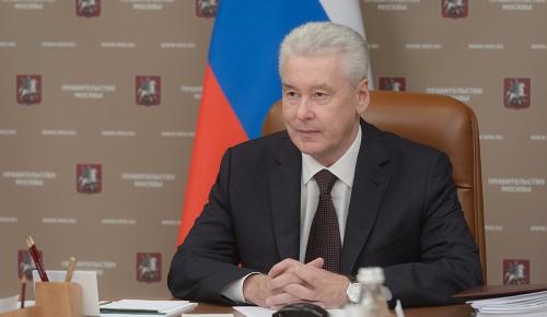 Собянин рассказал о мерах профилактики коронавирусной инфекции в Москве