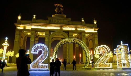 Собянин рассказал о праздничных световых конструкциях на улицах Москвы