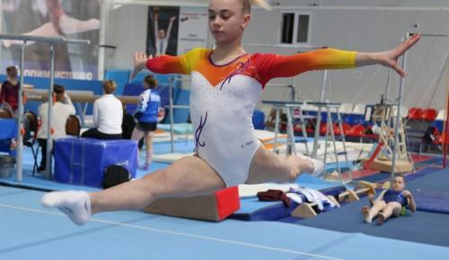 Городские соревнования по спортивной гимнастике ФОК Самбо-70