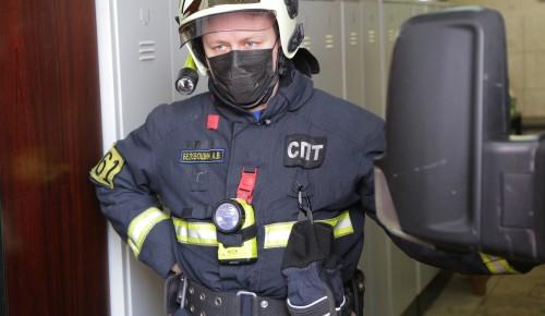 Лучший пожарный Москвы Александр Беловошин