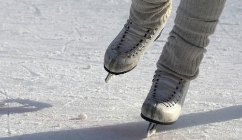 Жители ЮЗАО могут воспользоваться коньками в пунктах проката