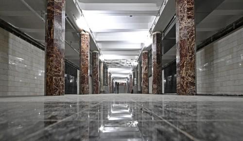 На Каховской линии метро продолжается реконструкция всех станций
