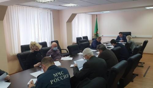 На Юго-Западе Москвы состоялось заседание по вопросам профилактики терроризма
