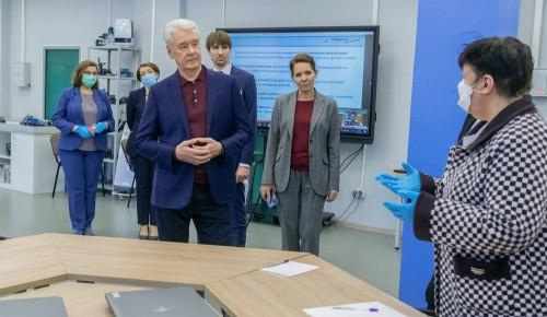 Собянин обсудил с учителями перспективы «цифрового репетиторства» в МЭШ