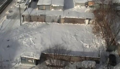 На улице Ивана Бабушкина демонтировали незаконный автосервис