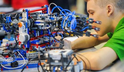 Сергунина рассказала о соревнованиях по робототехнике среди школьников Москвы и Подмосковья