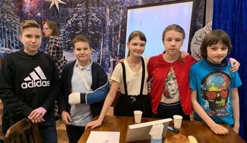 Воспитанники Воскресной школы храма Святой равноапостольной Нины в Черемушках приняли участие в викторине «Азы Православия»