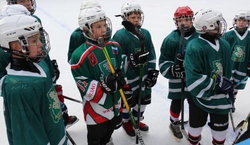 Команда спортсменов из Черемушек стала лучшей в свое группе на городских соревнованиях по хоккею