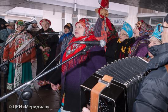 Широкую Масленицу отметят в культурном центре «Меридиан»