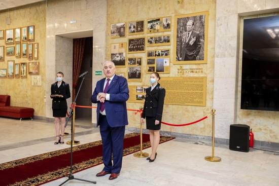 В Губкинском университете открылась постоянная экспозиция, посвященная деятельности В.Н. Виноградова