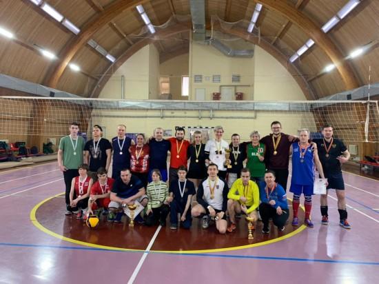 Волейболисты из Черемушек заняли 1 место на окружных соревнованиях