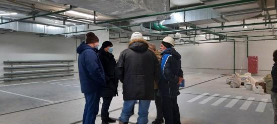 Управа и ГБУ «Жилищник» проинспектировали работы по чистовой отделке квартир в доме на Феодосийской