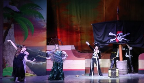 В Культурном центре «Лира» состоится премьера детского музыкального спектакля «Тайны пиратских сокровищ»