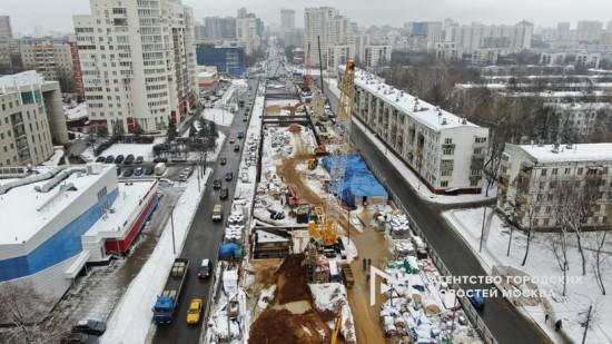 Станцию метро Зюзино откроют до конца года