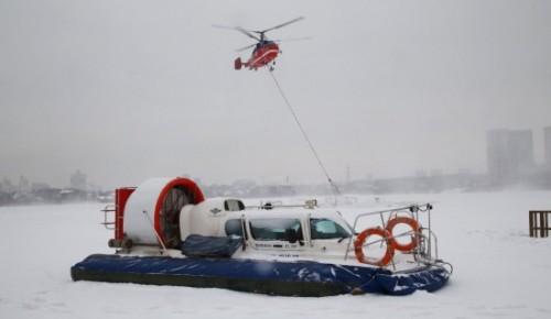 В феврале спасатели провели более 13 тысяч профилактических мероприятий на водоемах Москвы