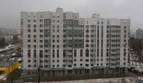 Реновация  на улице Шверника