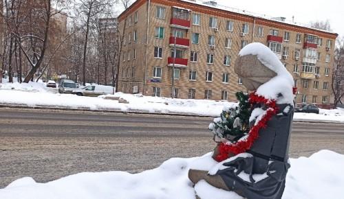 """Скульптура Галя у галереи """"Нагорная"""" сменила наряд"""