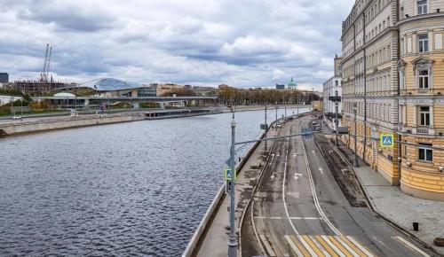 В Москве планируют начать благоустройство острова Балчуг