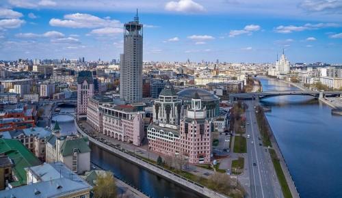 Благоустройство острова Балчуг в Москве начнется в ближайшее время