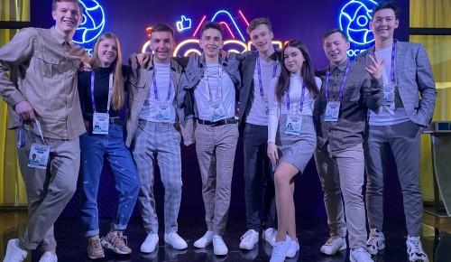 Сборная Губкинского университета по КВН стала обладателем повышенного рейтинга на 32-м Международном фестивале команд КВН «КиВиН-2021»
