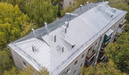 В 12 домах Теплого Стана отремонтируют крыши