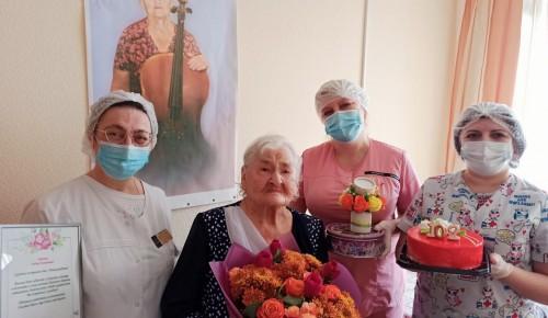 Ветеран Великой Отечественной войны отметила 102 день рождения