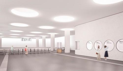 Андрей Бочкарев: На станции «Терехово» БКЛ метро завершаются монолитные работы