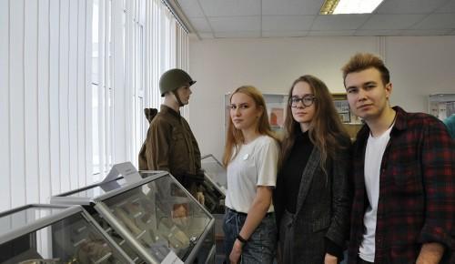 Поисковики «Победы» организовали интерактивную выставку в РШИ № 32 в Южном Бутове