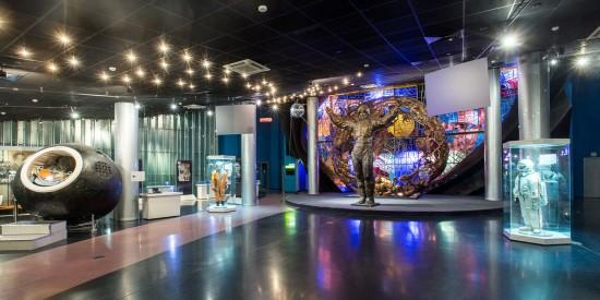 Воспитанник дошкольного отделения побывал в Музее космонавтики