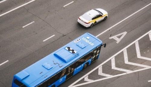 Автобусы КМ в районе закрытых станций Калужско-Рижской линии работают с высокой загрузкой