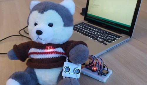 Новое изобретение школьников из Южного Бутова - волк-робот - стал помощником воспитателя в детсаде
